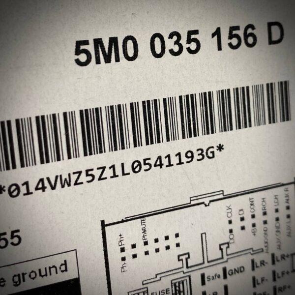 5M0035156D-(-EQUIVALENTE-5M0057156D)-Autoradio-RCD-210-con-Mp3_ETICHETTA