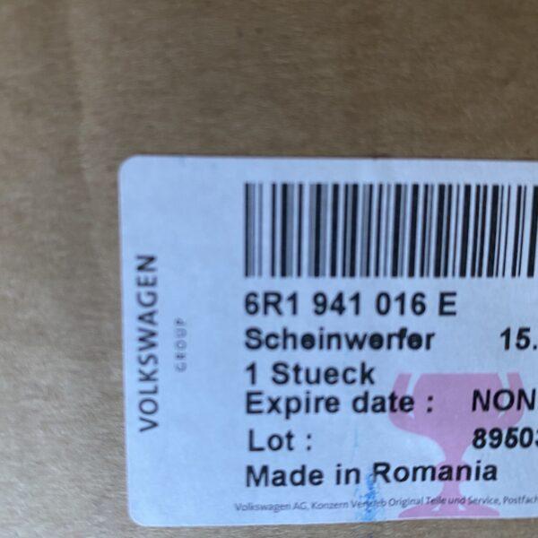6R1941016E_Fanale-proiettore-anteriore-Originale-Volkswagen-Polo