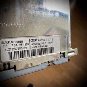 8P0035152C BVX_AUTORADIO_BLAUPUNKT_AUDI_CHORUS