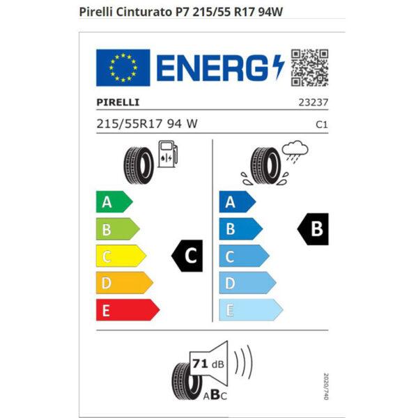 ZTS215557WPC70-Pirelli-Cinturato-P7-estivi-etichetta