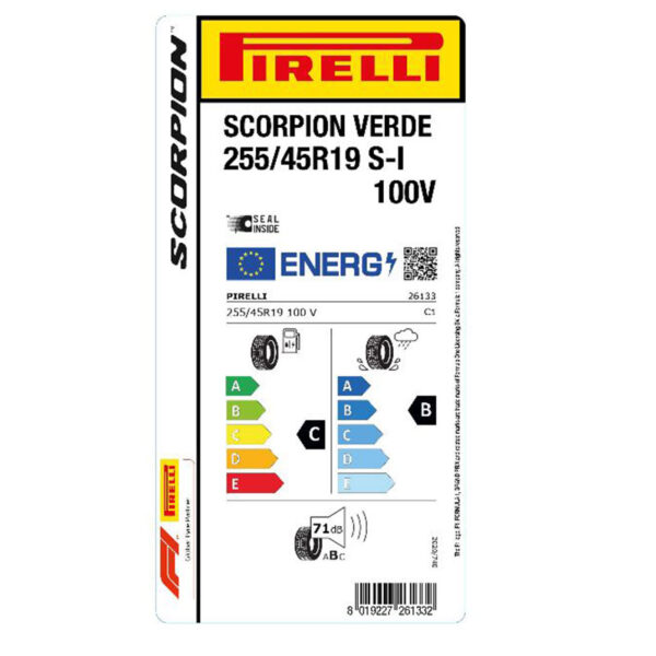 ZTS253459VPVSO Pirelli Scorpion verde estive